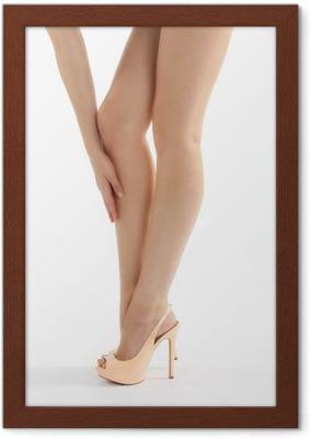 ecff6fbbd634d3 Schöne lange Beine in sexy High Heels Wall Mural • Pixers® • We live to  change