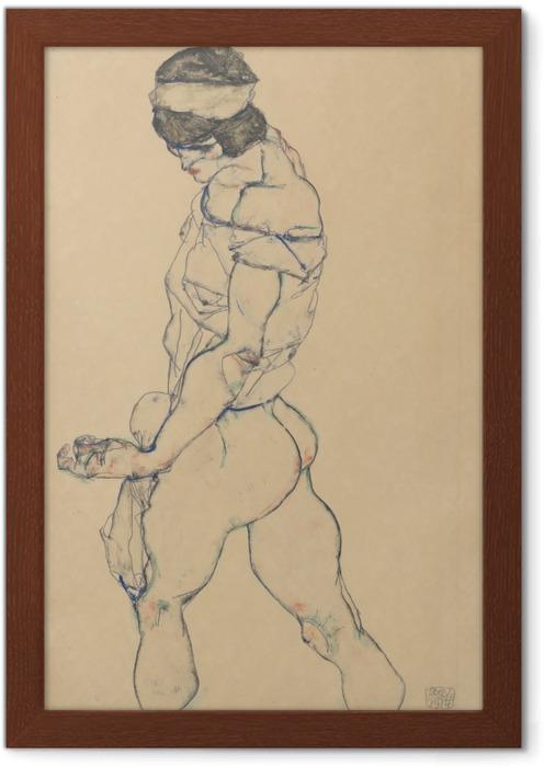 Poster en cadre Egon Schiele - Le Pacer - Reproductions