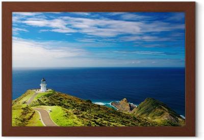 Poster in Cornice Cape Reinga Faro, Nuova Zelanda