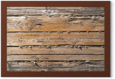 Poster parete di fondo legno grezzo u2022 pixers® viviamo per il