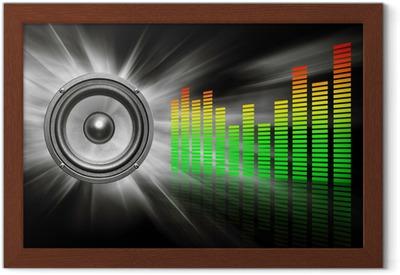 Poster in Cornice Speaker audio