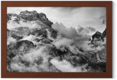 Poster en cadre Les Dolomites
