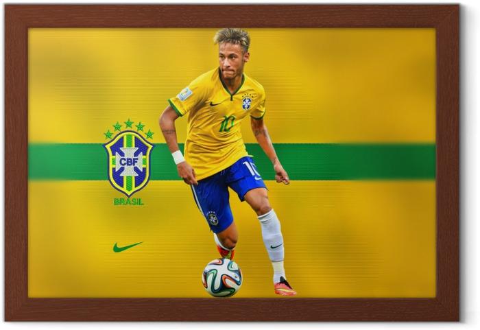 Plakat w ramie Neymar - Tematy