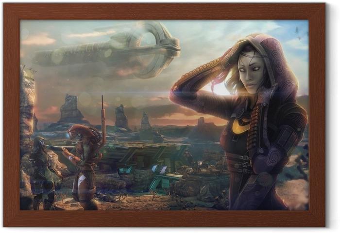 Ingelijste Poster Mass Effect - Thema's
