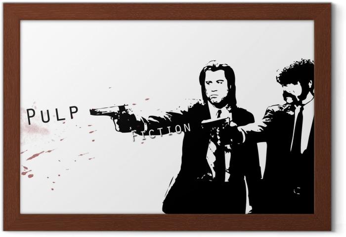 Poster en cadre Pulp Fiction - Criteo