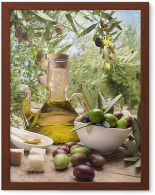 Poster i Ram Olja och oliver
