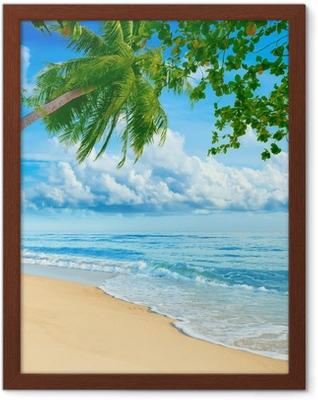 Poster in Cornice Spiaggia