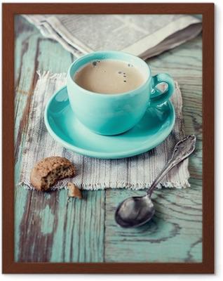 Çerçeveli Poster Kahve