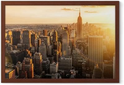 Plakat w ramie Nowy Jork