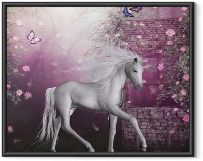Plakat w ramie Last Unicorn
