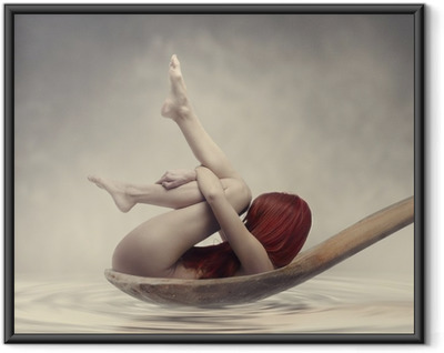 Beauty Bath Framed Poster
