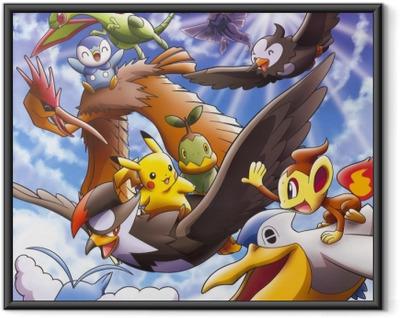 Ingelijste Poster Pokémon