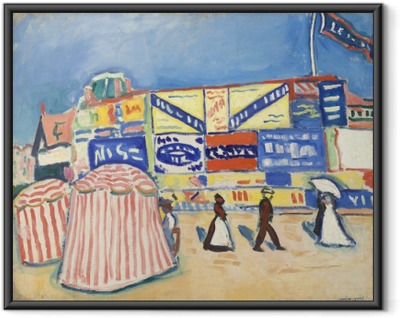 Gerahmtes Poster Albert Marquet - Poster in Trouville