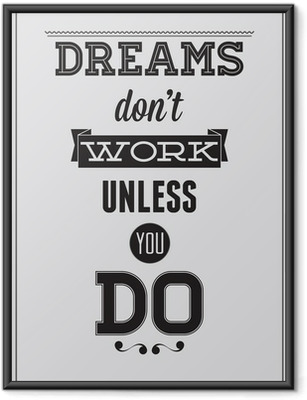 Poster in Cornice Poster Motivational