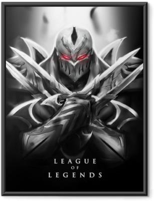 Plakat w ramie Zed - League of Legends