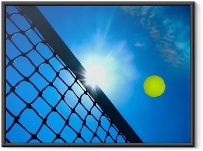 Innrammet plakat Tennis konsept