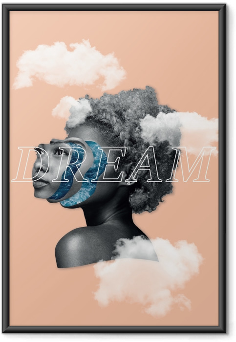 Poster en cadre Rêver -