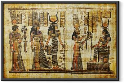 Poster en cadre Antique parchemin égyptien - iStaging
