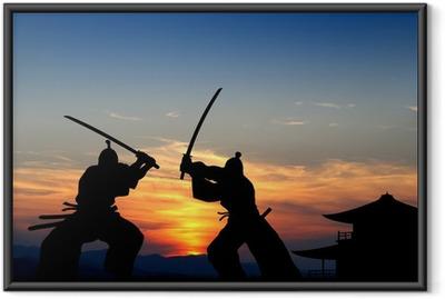 Samurai Framed Poster