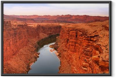 Poster en cadre Colorado river