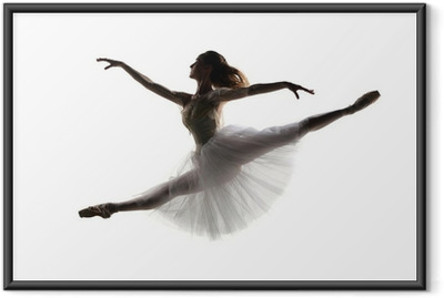 the dancer Framed Poster