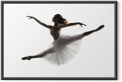 Gerahmtes Poster Die Tänzerin