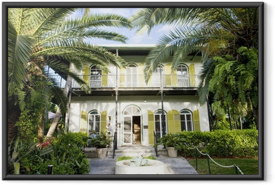 Hemingway House, Key West, Florida, USA Framed Poster