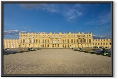 Gerahmtes Poster Schloss von Versailles