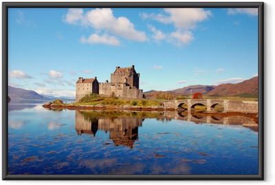 Poster i Ram Eilean Donan Castle, Skotska högländerna,