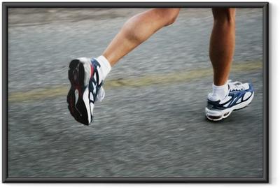 Poster en cadre Running woman