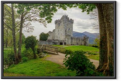 Póster Enmarcado Ross Castle, cerca de Killarney, Co. Kerry Irlanda