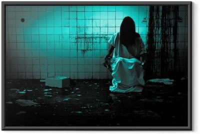 Horror or Scary Scene Framed Poster
