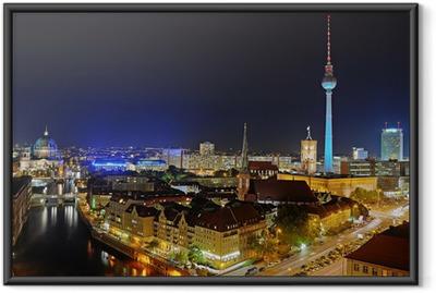 Ingelijste Poster Berlijnse TV toren