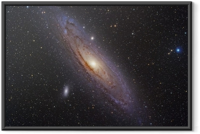 Gerahmtes Poster Andromeda Galaxy