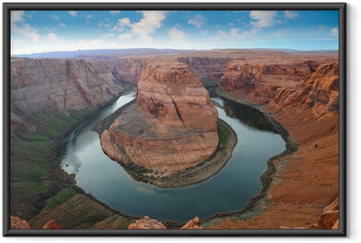 Ingelijste Poster Grand Canyon, Horse Shoe Bend