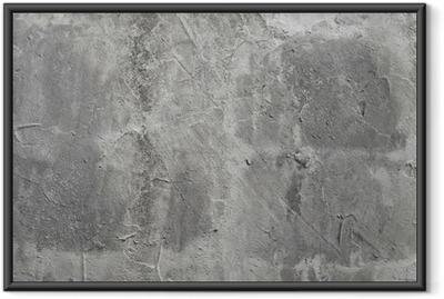 Gerahmtes Poster Beton Wand
