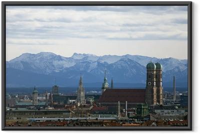 Poster en cadre Munich Panorama