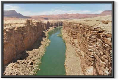 Poster en cadre Marble Canyon, le fleuve Colorado en Arizona