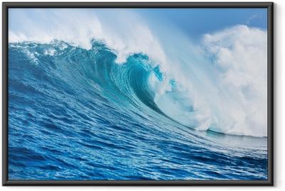 Poster en cadre Ocean wave