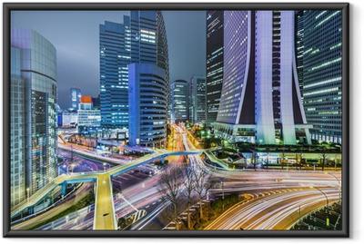 Poster en cadre Tokyo Japon à l'ouest de Shinjuku, Gratte-ciel