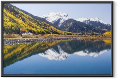 Autumn in Colorado Framed Poster