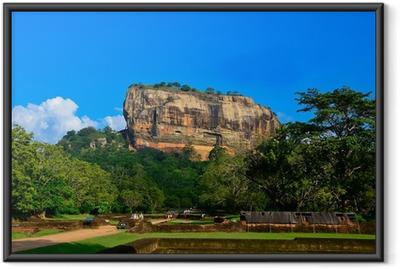 Poster en cadre Forteresse de Sigiriya Rock