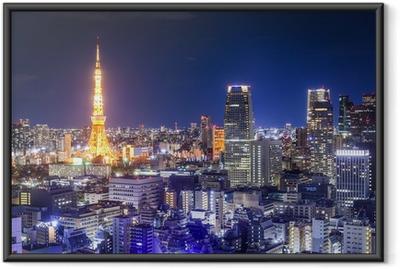 Tokyo, Japan Skyline Framed Poster