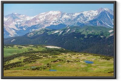 Ingelijste Poster Colorado Rocky Mountains