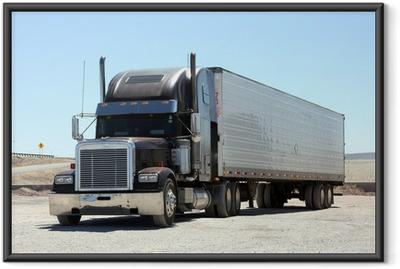 Póster com Moldura Keep on Trucking