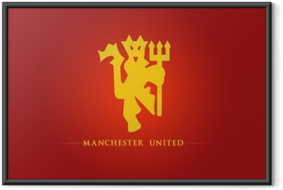 Poster i Ram Manchester United