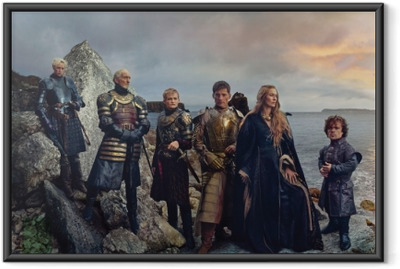 Gerahmtes Poster Game of Thrones
