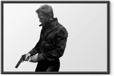 James Bond Framed Poster