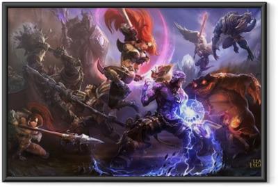 Poster i Ram League of Legends
