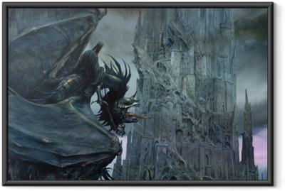 Poster en cadre Le Seigneur des anneaux